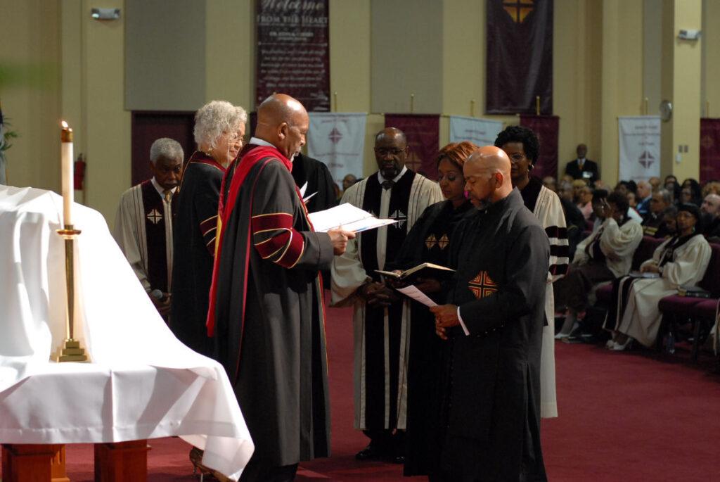 40th Anniversary - Bishop's Pastoral Photo Collage